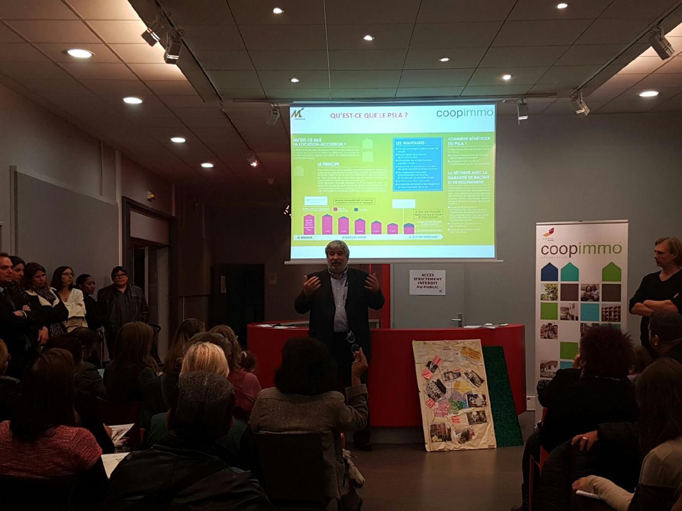 A ivry-Sur-Seine (94), Coopimmo présente les atouts de l'habitat participatif